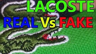 Lacoste | Real Vs CHEAP