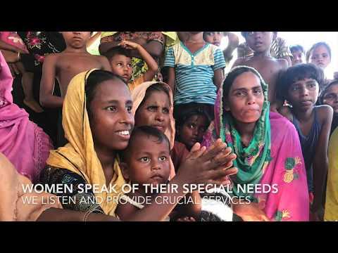 UNFPA Rohingya Response - Women and Girls First