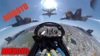 Blue Angels Flyover • Operation America Strong NY NJ PA