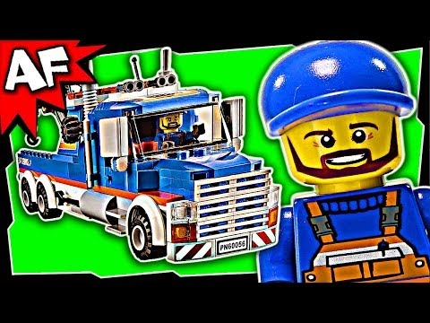 Vidéo LEGO City 60056 : La remorqueuse de camions