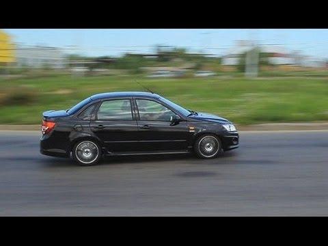 Фото к видео: Лада Гранта Спорт Тест-Драйв.Anton Avtoman.