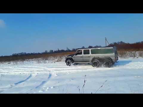 Лімузин Мерседес G-класу (6 колес ) та (8 колес ), відео 5