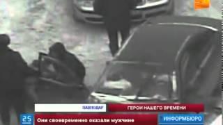 В Павлодаре полицейские спасли жизнь водителю, пострадавшему в ДТП