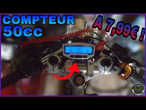COMPTEUR 50CC A 8€ ? // Unboxing et Avis