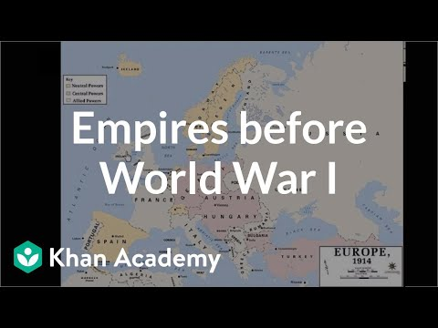 Empires before World War I video