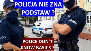 Policja nie stosuje się do przepisów prawa ją obowiązujących.