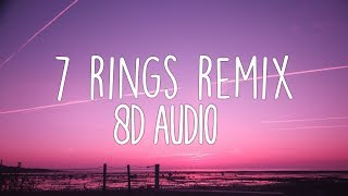 Ariana Grande   7 Rings Remix (8D Audio) 🎧 Ft. 2 Chainz