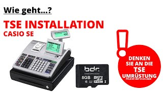 CASIO SE-S400 TSE Installation (Neukassen) (SE-S400, SE-C450, SE-S3000, SE-C3500)