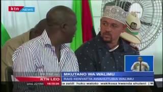 Rais Uhuru Kenyatta leo hii amehudhuria kongamano la 41 la  Wakuu was Shule za Sekondari mjini Momba