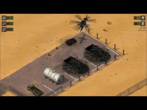 Alligator Strike (Desert Strike Tribute) Demo v1.2 Campaign Playthrough