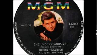 Johnny Tillotson - She Understands Me   (1964)