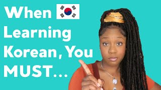 If Youre Learning Korean Watch This...