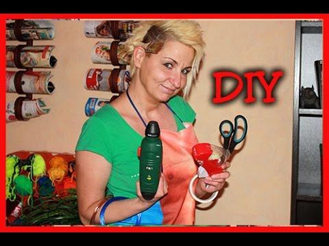 DIY - Kosmetikaufbewahrung im Bad