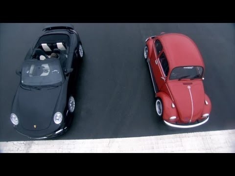 Porsche Turbo vs VW Beetle | Top Gear | BBC