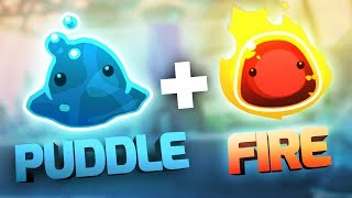 CAN FIRE SLIMES LIVE WITH PUDDLE SLIMES? - Slime Rancher 1.1.0 Full Version Gameplay Part 19