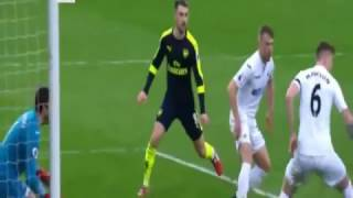 Swansea vs Arsenal All Goals & Highlights Premier League 14/1/2017 HD