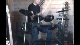 Judas Priest-Living Bad Dreams-Drum Cover