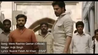 mere Rashke Qamar full song   (offical) arijit sing ||movie|| Raees ||