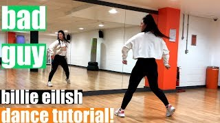 Bad Guy Billie Eilish Dance TUTORIAL!