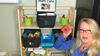 Kindergarten MATH Centers   HOW To Make A Math Cafe  Or Math Salad Bar In Your Classroom.