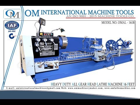 Heavy Duty All Gear Head Lathe Machine