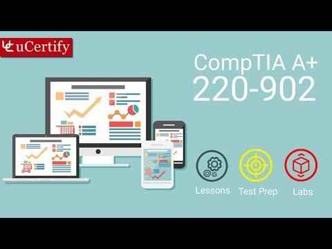 CompTIA A+ 220-902 Exam 2 (Course & Labs) - YouTube