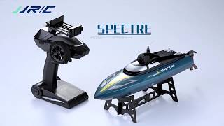 JJR/C S4 SPECTRE 2.4G 720P WIFI FPV Camera 25km/h High Speed RC Racing Boat