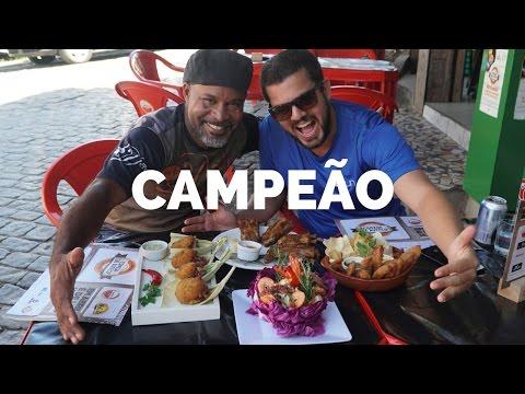 CAMPEÃO COMIDA DI BUTECO 2016 e 17 - Bar do Davi - Rio de Janeiro