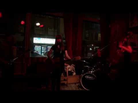 Copperhead Lucy - debut gig at The Abbey, Kentish Town 29.01.12 (Part 1)