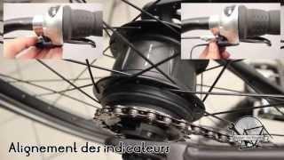 Reglage moyeu Nexus vélo