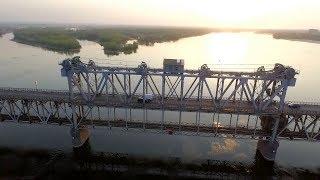 Кременчугский мост: один из самых аварийных мостов Украины