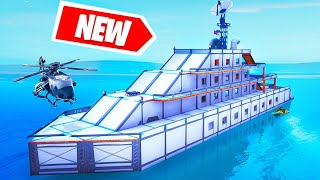 NEW YACHT Build CHALLENGE! (Fortnite Creative)