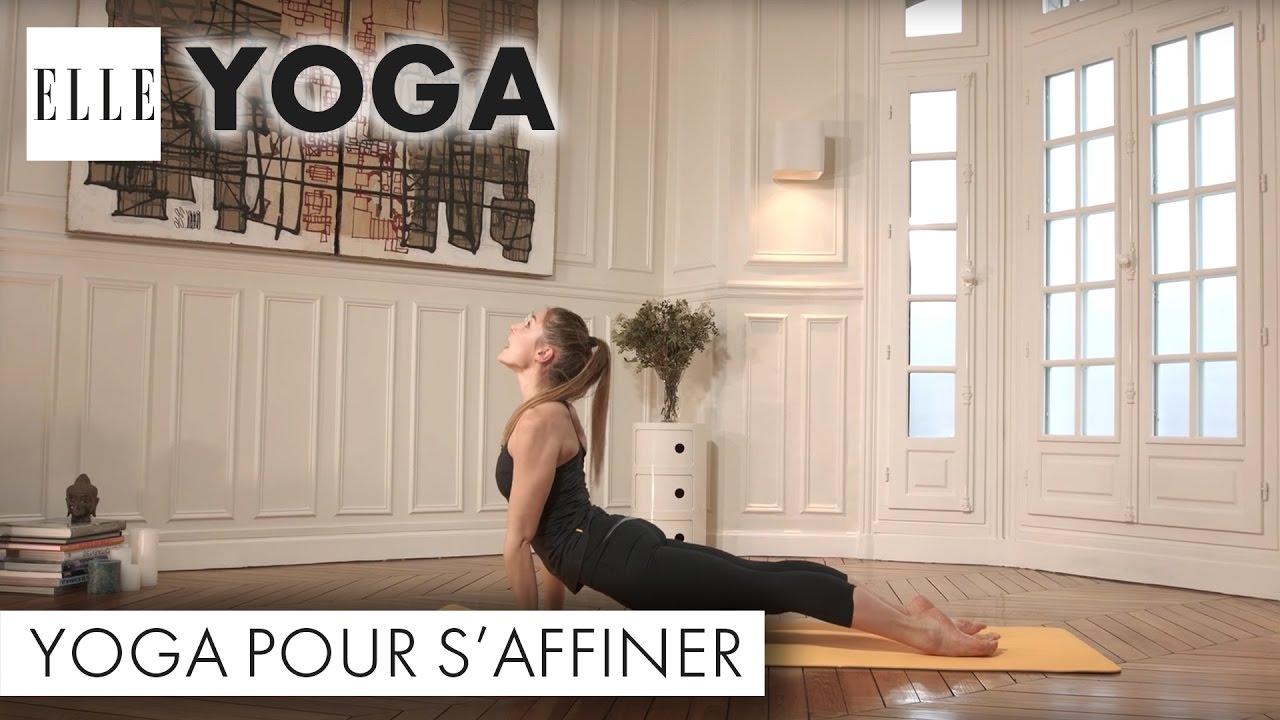 Le yoga pour s'affiner