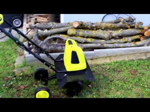 Unboxing FANZTOOL 1500W Elektro Motorhacke Bodenhacke Gartenhacke Bodenfräse