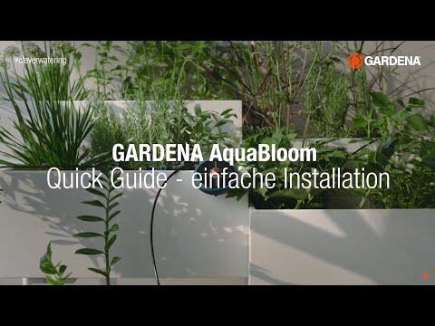 AquaBloom - Kurzanleitung