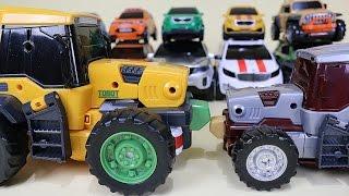 또봇 14대 변신 기가세븐 14 Tobot transformation robot car toys