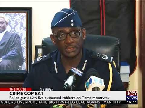 Crime Combat - The Pulse on JoyNews (5-4-18)