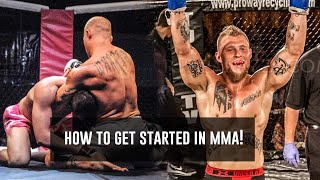 How to Start MMA Training for Beginners | Phil Daru