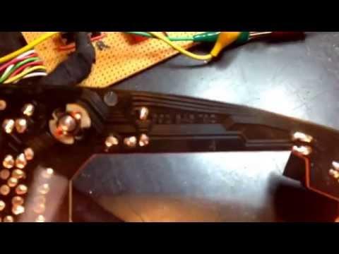Kombiinstrument Audi 100/200 Typ44 Blinker rechts nach Reparatur dauerhaft an. Ursache