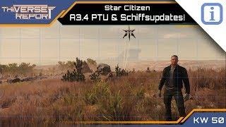 Star Citizen 3.4 PTU Start & jede Menge Schiffsupdates! | Wochenrückblick [Deutsch/German]