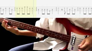 Bass TAB : Penny Lane - The Beatles