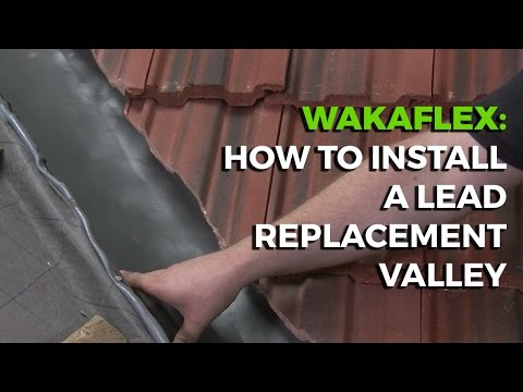 How To Install a Lead Replacement Valley