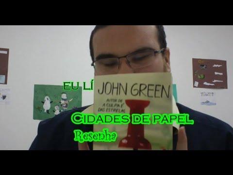 Resenha: Cidades de Papel de John Green