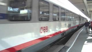 preview picture of video 'Abfahrt des ÖBB IC 542 in Attnang-Puchheim'
