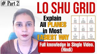 Different Types Of Planes In Lo Shu Grid In Hindi Missing Numbers