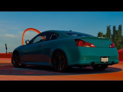 Forza Horizon 3 Hot Wheels Dinohetzjagd mit 2012 Infiniti IPL G Coupe