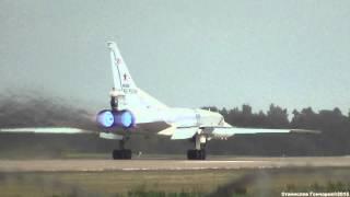 ТУ-22М3 RF-94155 Взлет Короткая версия Форсаж FULL HD [ 1080 ]