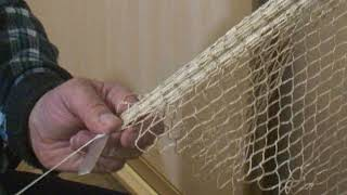 Как вязать бредень для рыбалки своими руками