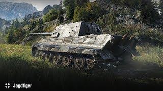Jagdtiger | Медаль Пула и Колобанова на Перевале