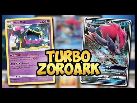 Turbo Zoroark GX / Muk – Pokemon TCG Online Gameplay